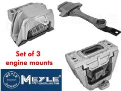 Engine mount set of 3 by Meyle 1.8T 6 Speed